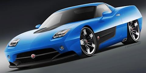 Endora SC-1 concept based on Corvette