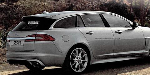 Jaguar XF Sportbrake leaked images