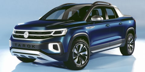 Volkswagen Tarok Concept unveiled