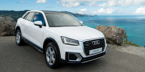 2017 Audi Q2 makes Australian debut at Hamilton Island Race Week