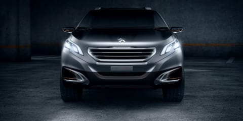 Peugeot Urban Crossover Concept revealed