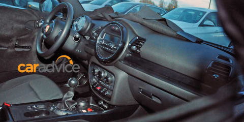 2016 Mini Clubman : Interior revealed in latest spy shots