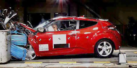 Hyundai Veloster, Honda Civic earn ANCAP five-star safety ratings