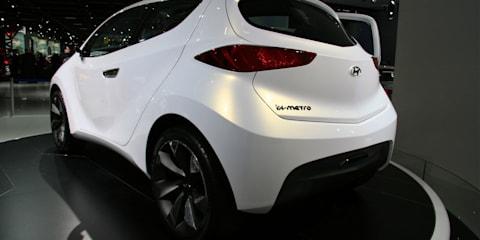 Hyundai ix-Metro at Frankfurt Motor Show