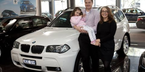 BMW X3 sells 6000th unit