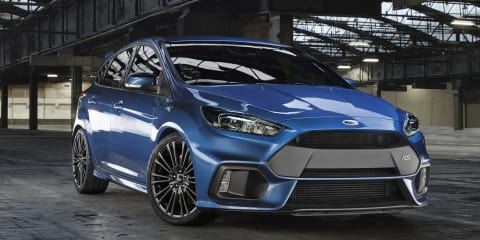 2016 Ford Focus RS:: AWD, 235kW-plus hot hatch in detail