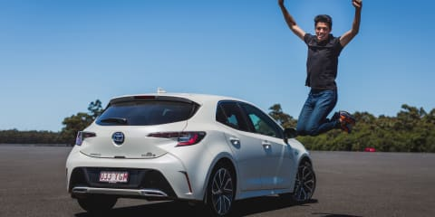 The CarAdvice Winners Circle 2018, James Wong: Toyota Corolla ZR Hybrid