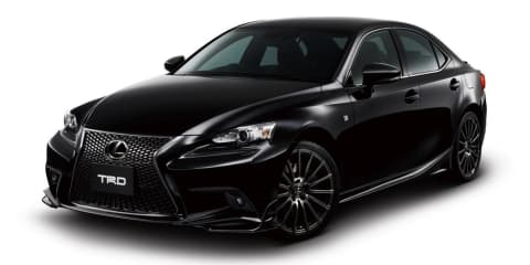 Lexus IS: TRD hots up new Japanese sedan