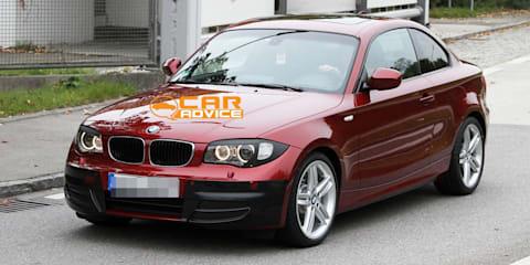 BMW 1 Series Facelift Spy Photos