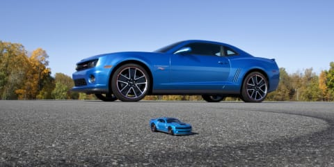 Chevrolet Camaro Hot Wheels Edition brings toy car to life