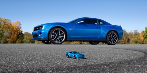 Chevrolet Camaro Hot Wheels Edition brings toy car to life