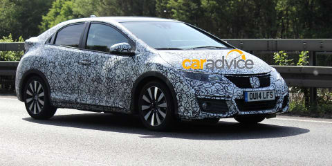 2015 Honda Civic hatch getting Type R-inspired facelift