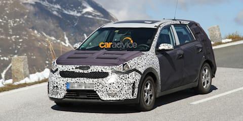 Kia Niro compact SUV spied in Austria