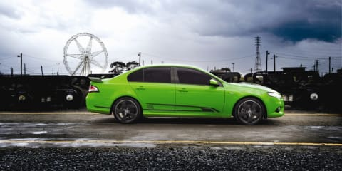 FPV GS recreates a famous Ford