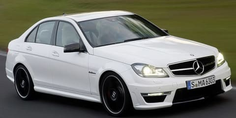 2012 Mercedes-Benz C63 AMG facelift