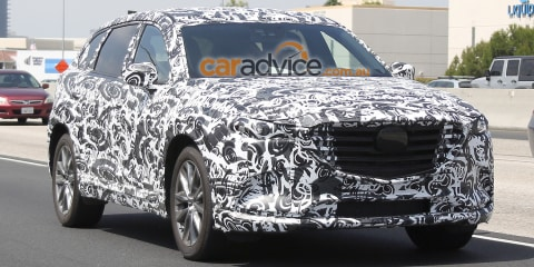 2016 Mazda CX-9 spied ahead of likely November debut