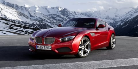 BMW Zagato Coupe: concept designed with production in mind
