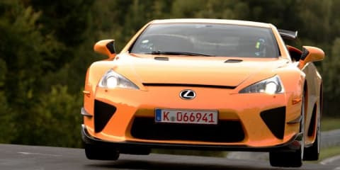 Lexus LFA Nurburgring Edition smashes lap time