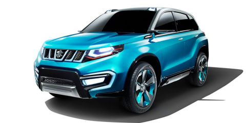 Suzuki iV-4 SUV : Production version due here in 2015