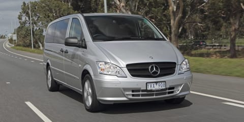 2012 Mercedes-Benz Valente eight-seater on sale