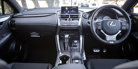 2017 Lexus NX300h F-Sport review