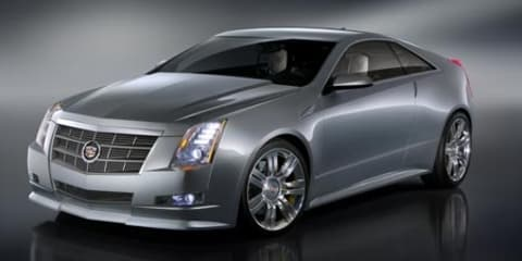 Cadillac CTS Coupé revealed ahead of LA Motor Show
