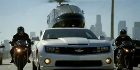 Video: Chevrolet Camaro Miss Evelyn Super Bowl advertisement