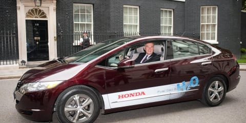 Honda FCX Clarity hits UK roads for the first time
