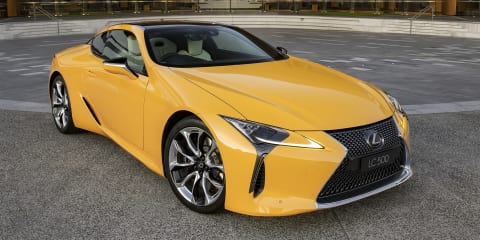 Lexus LC Limited Edition confirmed for Australia