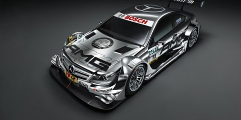 2012 Mercedes-Benz C-Class Coupe DTM race car at Frankfurt Motor Show
