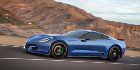Genovation GXE: Manual, electric Corvette set for CES debut
