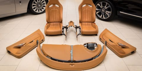 Bugatti Veyron interior for sale in the US