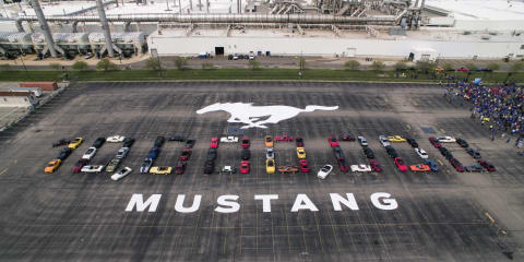 Ford Mustang: 10 millionth example rolls off the production line