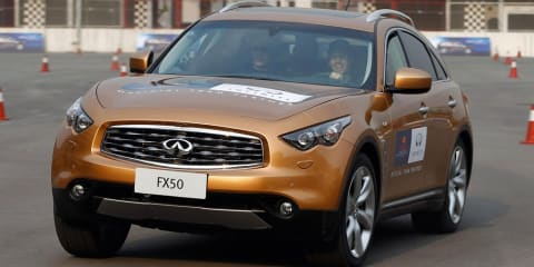 Infiniti FX50 Sebastian Vettel Edition SUV to be unveiled at Frankfurt show?