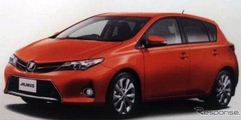 Toyota Corolla: small hatch revealed in leaked images