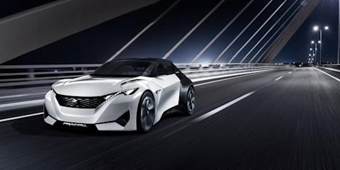 Peugeot Fractal concept leaked
