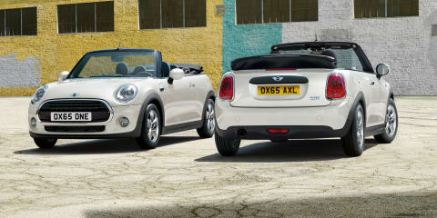 2016 Mini Convertible:: Australian debut set for second quarter