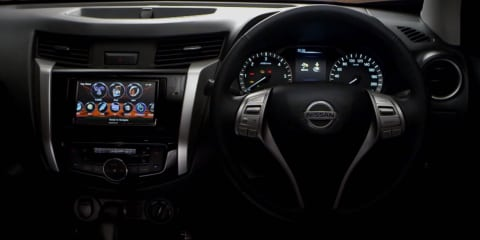 New Nissan Navara interior revealed