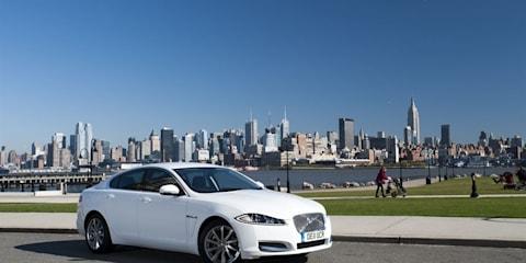 Jaguar XF embarks on US Coast to Coast challenge