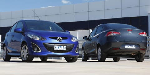 2010 Mazda2 hatch & sedan face-lift heads for Australia