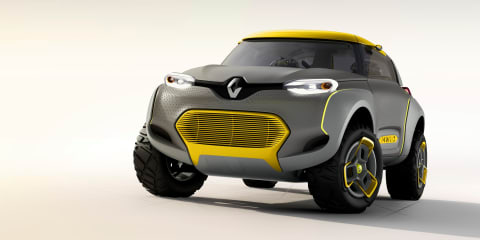 Renault Kwid concept baby SUV revealed