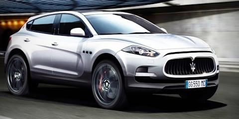 Maserati SUV headed for Frankfurt Show, two new sedans in the pipeline