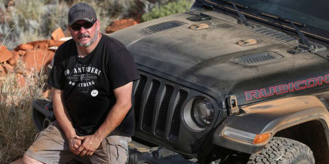 2018 Wrangler in the Australian outback: Q&A with off-road boss Bernie Trautmann