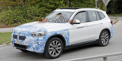 2020 BMW iX3 drivetrain detailed