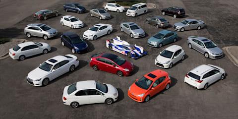Toyota sells seven millionth hybrid vehicle in September