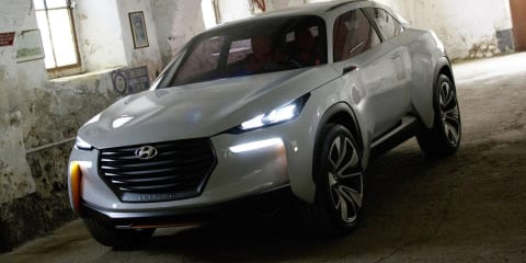 Hyundai Intrado : Hydrogen-fuelled crossover concept leaked