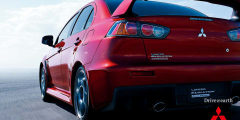 Mitsubishi Lancer Evolution Final Edition coming to Australia in 2015
