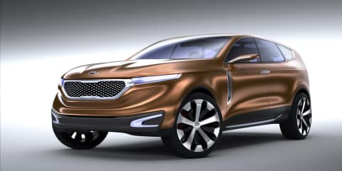 Kia Cross GT Concept CUV unveiled