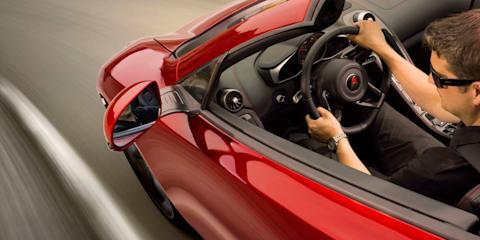 McLaren 12C Spider announced