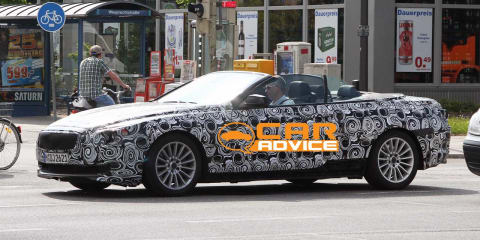2011 BMW 6 Series Convertible Spy Photos